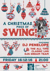 A Christmas Piece of Swing, Thessaloniki, Dec 16, 2016.
