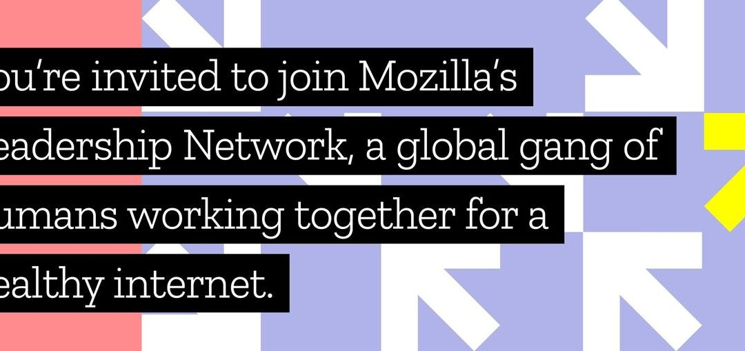Joining the Mozilla Open Leaders Program